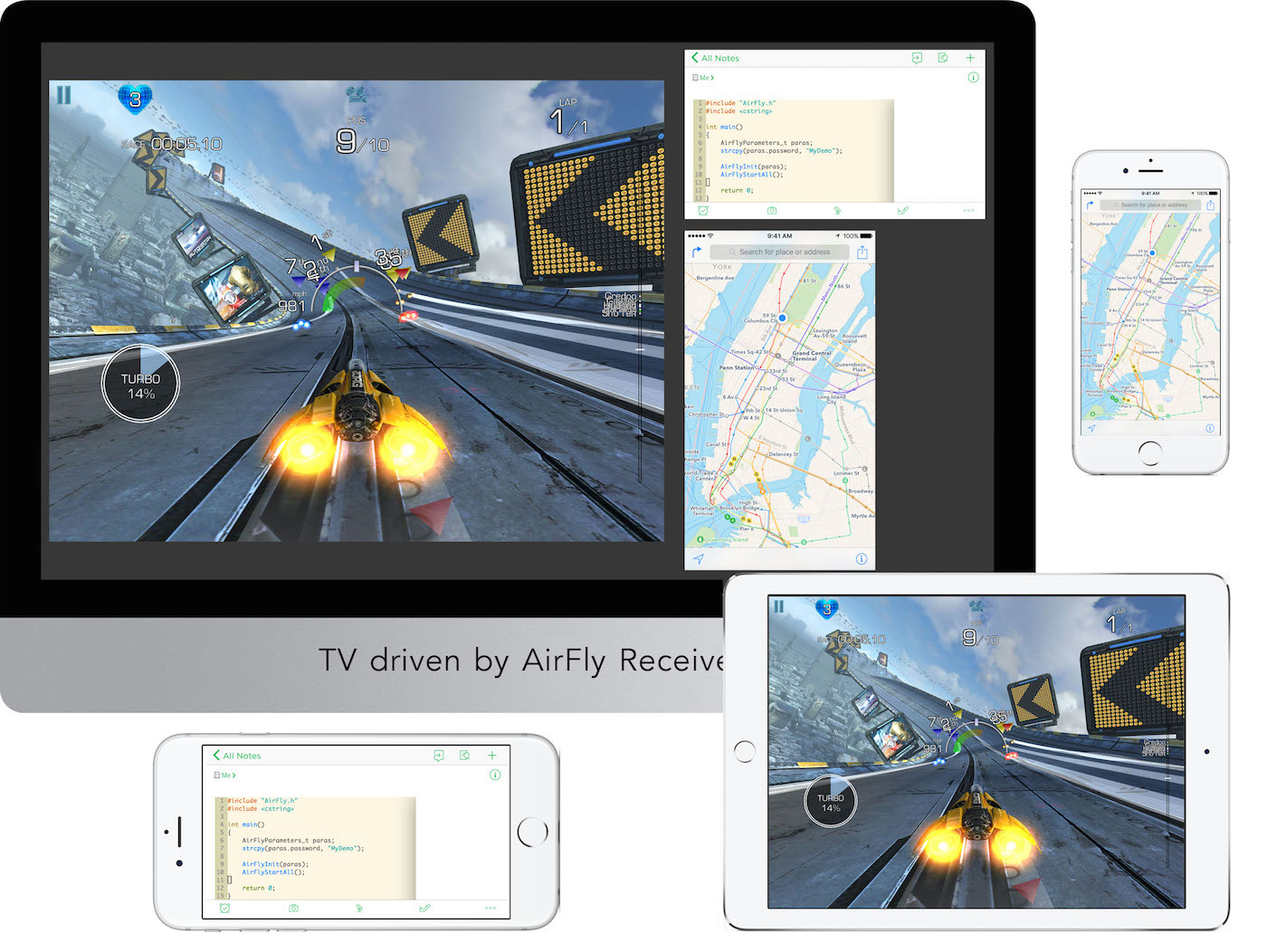 AirFly - AirPlay, Mirroring Solutions, AirPlay Receiver